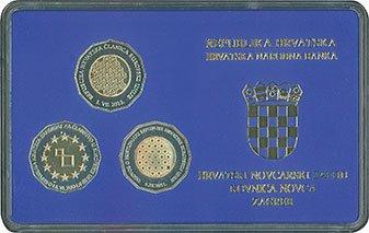 numizmatički komplet prigodnoga optjecajnog kovanog novca